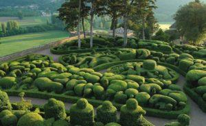 сад замка Маркессак