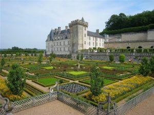 овощные сады в регулярном стиле в Европпе.